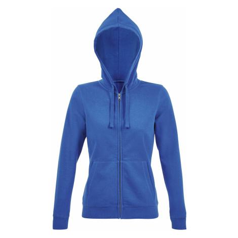SOĽS Dámská mikina SPIKE WOMEN 03106241 Royal blue SOL'S