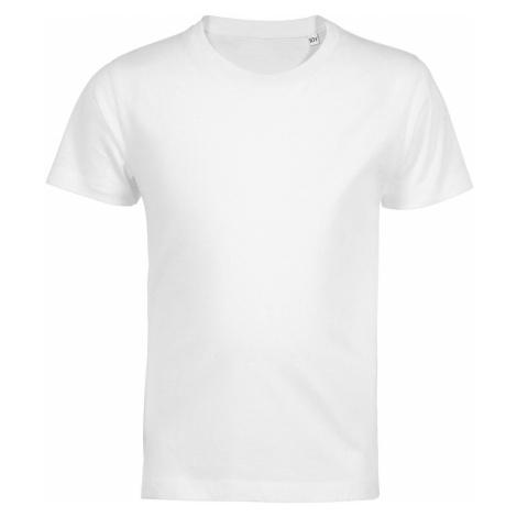 SOĽS Dětské tričko MARTIN KIDS 03102102 Bílá SOL'S