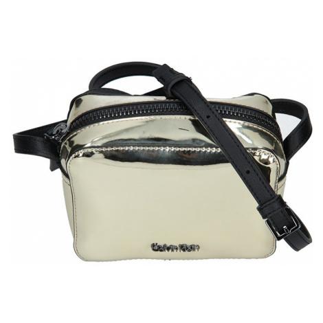 Dámská crossbody kabelka Calvin Klein Líza - zlatá