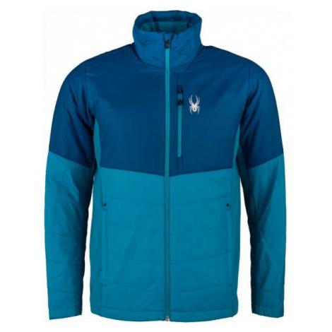 Spyder M GLISSADE HYBRID modrá - Pánská bunda