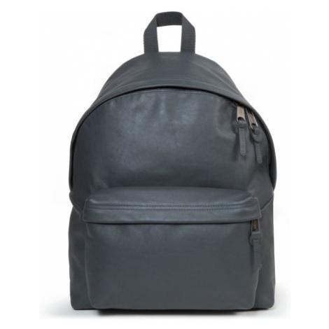 EASTPAK Kožený batoh Padded Pak'r Steel Leather EK62024U 24 l