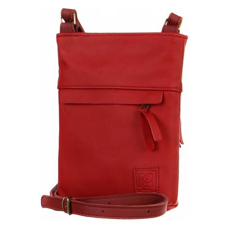 Dámská crossbody kabelka z pravé kůže - vyrobeno v České republice
