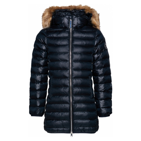 BUNDA GANT D1. LONG FAUX FUR PUFFER JACKET
