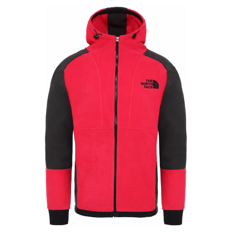 Mikina THE NORTH FACE 94 RAGE CLASSIC FLEECE HOODIE, ROSE RED/ASPHALT GREY