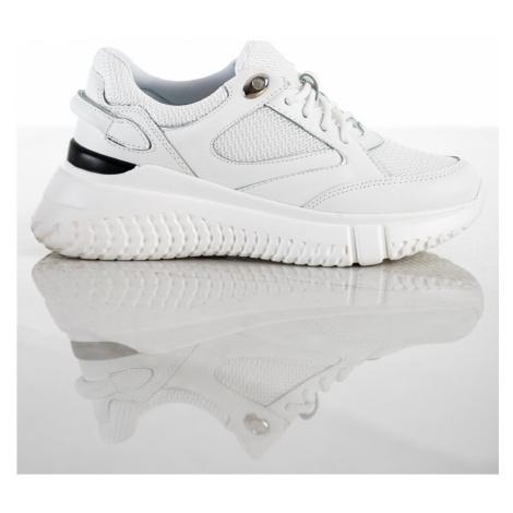 Weide Designové tenisky bílé dámské bez podpatku ruznobarevne