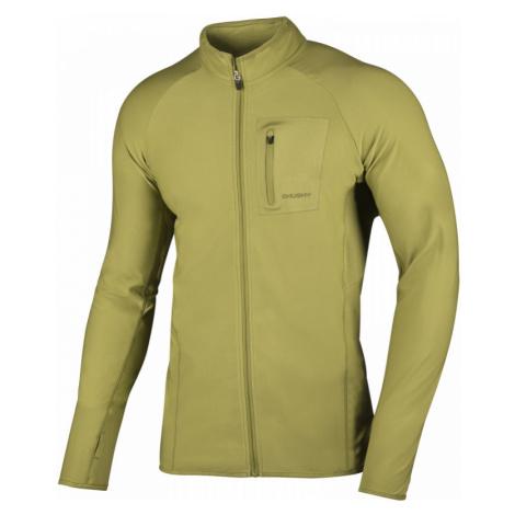 Pánská mikina HUSKY Tarr Zip M žlutozelená