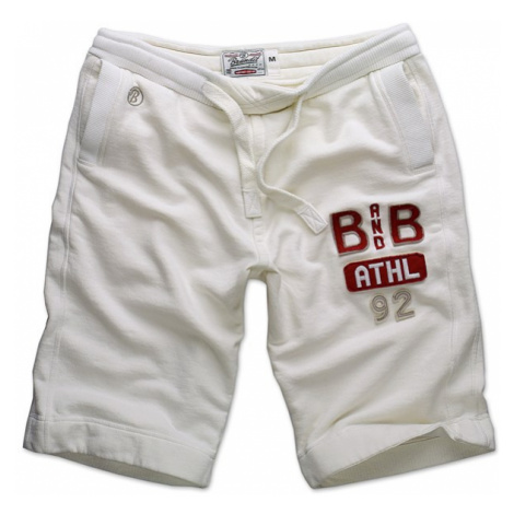 Brandit Kalhoty krátké Sweatshort Classic bílé