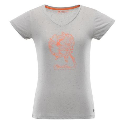 Kerpa 4 šedá dámské triko ALPINE PRO