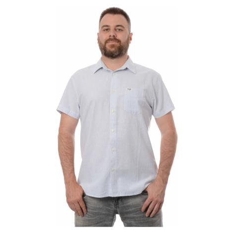 Košile Wrangler 1 PKT Cerulean Blue pánská světle modrá