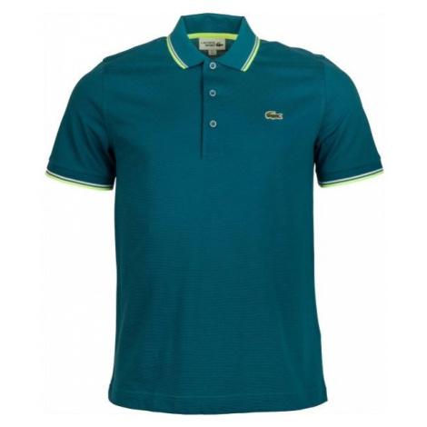 Lacoste MEN S/S POLO tmavě zelená - Pánské polo tričko
