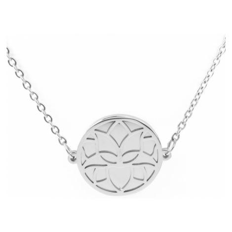 Vuch Dámský náhrdelník Planty Silver