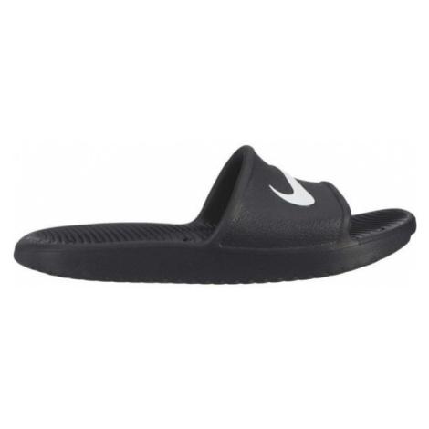 Nike KAWA SHOWER GS černá - Dětské pantofle