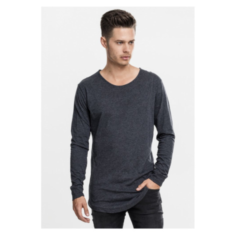 Long Shaped Fashion L/S Tee - charcoal Urban Classics