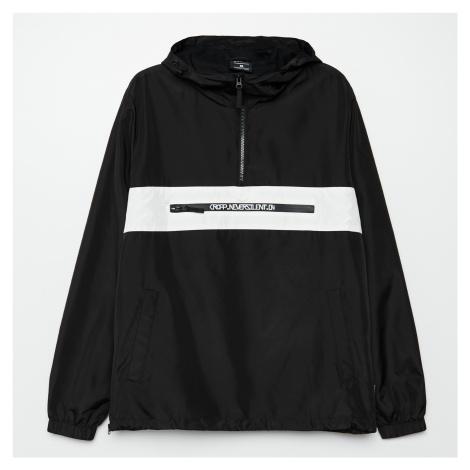 Cropp - Bunda anorak s kapucí - Černý
