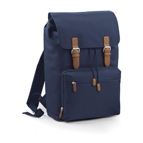 Batoh na notebook Vintage - modrý Bagbase