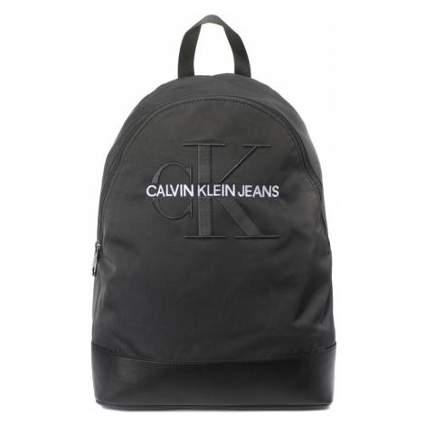 Calvin Klein pánský tmavě šedý batoh Monogram