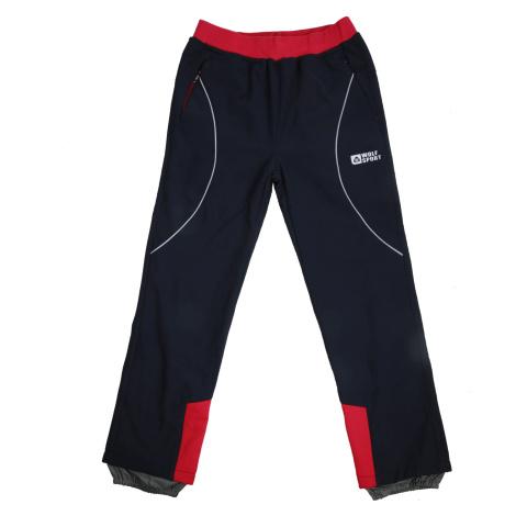 Dívčí softshellové kalhoty, zateplené - Wolf B2092, tmavě modrá