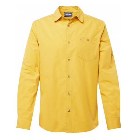 CRAGHOPPERS Funkční košile 'Kiwi Ridge' světle žlutá
