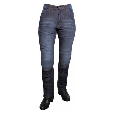 Dámské Jeansové Moto Kalhoty Roleff Aramid Lady Modrá