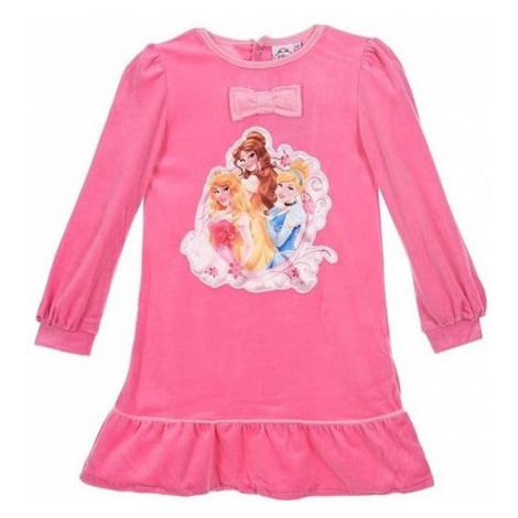 Disney princezny růžová dívčí noční košile