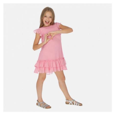 Dívčí šaty Mayoral 6961 | růžová