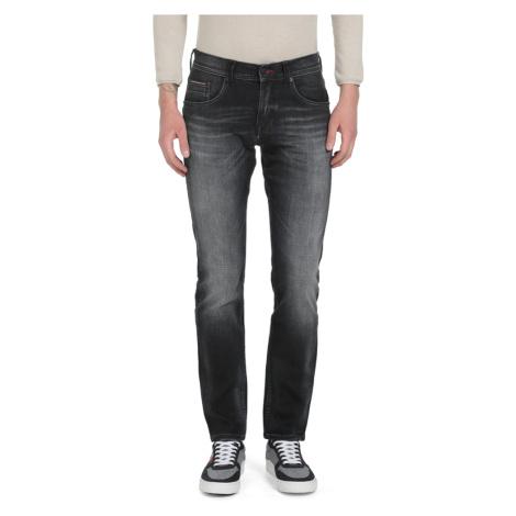Tommy Hilfiger pánské černé džíny Danton