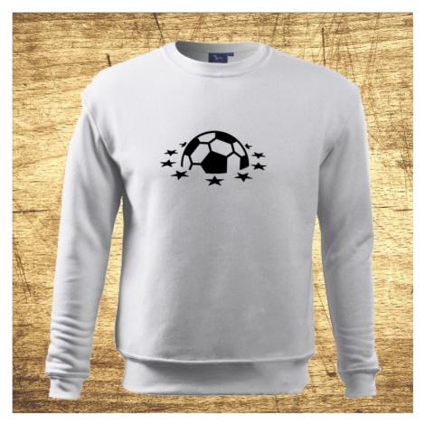 Detská mikina s motívom Futbal 4 BezvaTriko