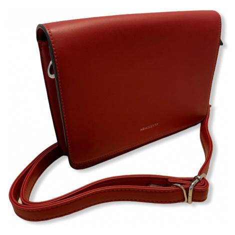 Dámská kabelka NewBerry Corinne, červená New Berry