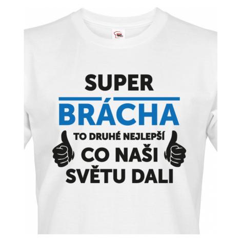 Pánské tričko Super brácha - ideální narozeninový dárek pro bráchu BezvaTriko