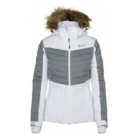 KILPI Dámská lyžařská bunda - větší velikosti BREDA-W JLX112KIWHT Bílá