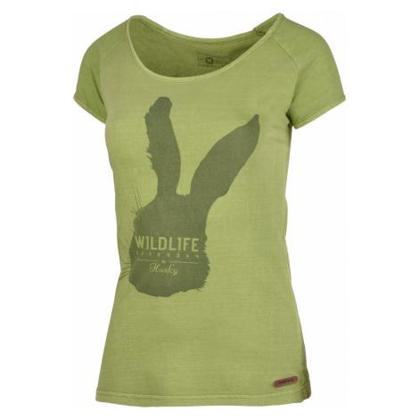Husky Rabbit tm.zelená