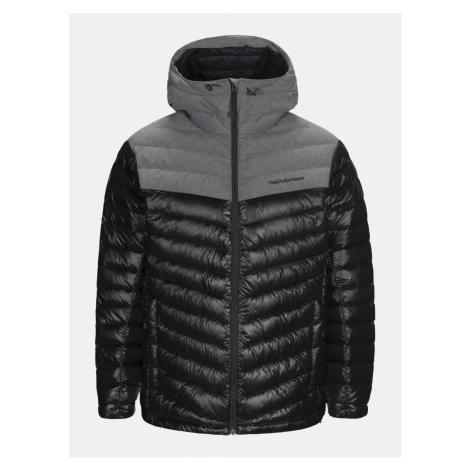 Bunda Peak Performance Frost Fl H Outerwear - Černá