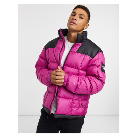 The North Face Lhotse puffer jacket in purple