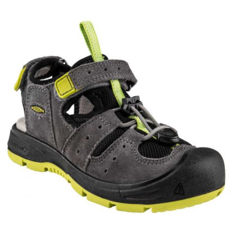 Keen BALBOA EXPY šedá - Dětské sandály