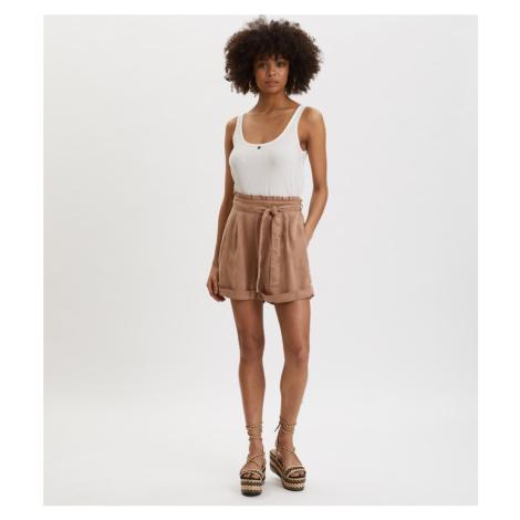 Šortky Odd Molly Tender Shorts - Hnědá