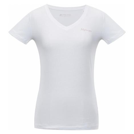 Dámské triko Alpine Pro LUKA 2 - bílá