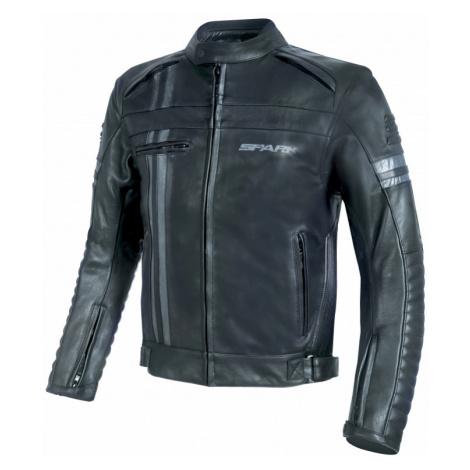 Pánská Kožená Moto Bunda Spark Brono Evo Černá