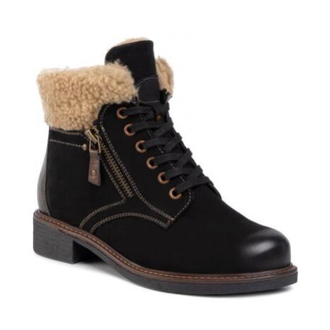 Šněrovací obuv Lasocki WI16-ALA-02 Přírodní kůže (useň) - Nubuk