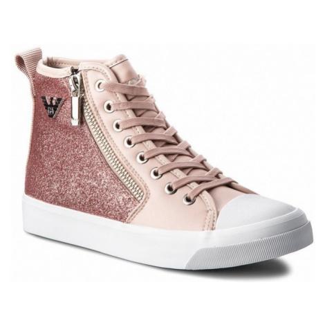 Armani Emporio Armani dámské růžové tenisky