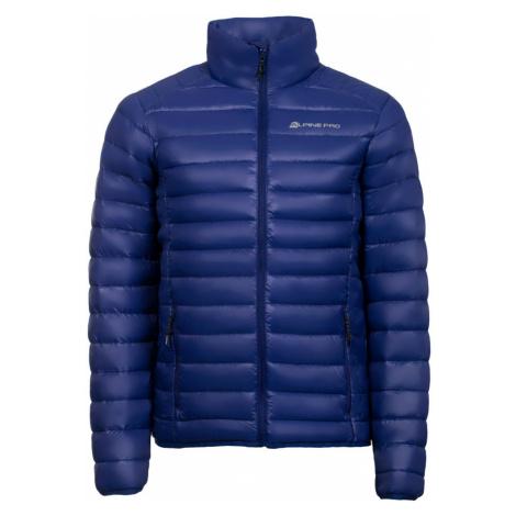 ALPINE PRO TATAR Pánská bunda MJCK082623 tmavě modrá