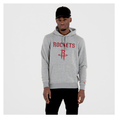 Pánská mikina s kapucí New Era NBA Remaining Teams Houston Rockets Light Grey