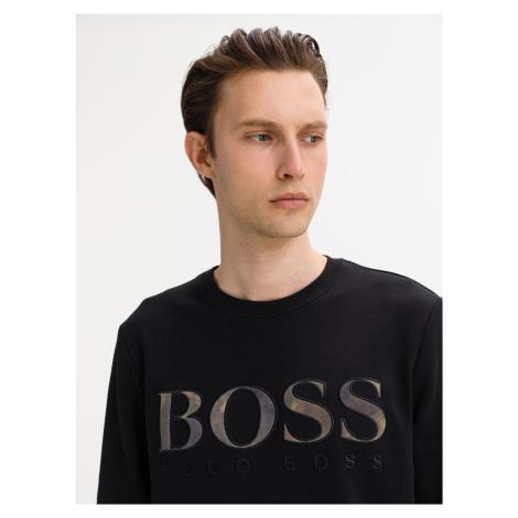 Mikina BOSS Černá Hugo Boss