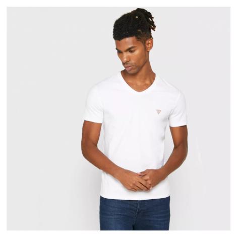 Guess pánské bílé triko