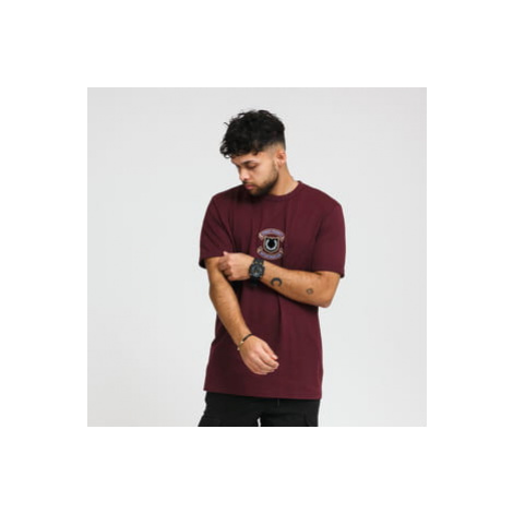 FRED PERRY Embroidered Sheild Tee vínové