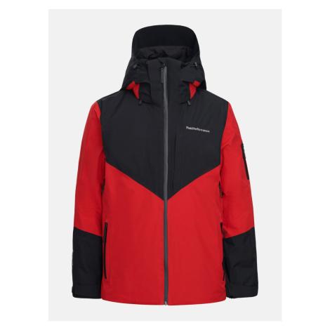 Bunda Peak Performance M Maroon Gtx Jacket - Červená