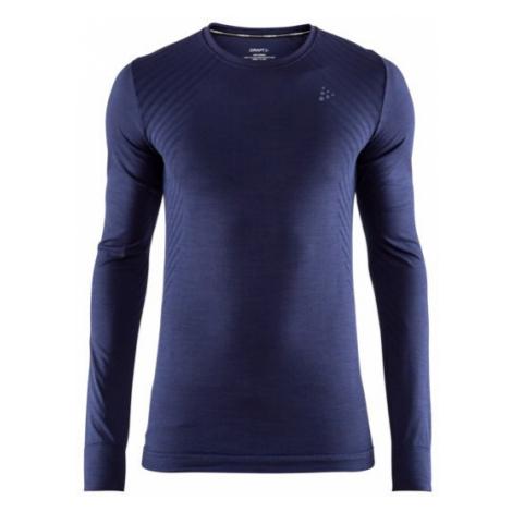 Pánské tričko CRAFT Fuseknit Comfort LS tmavě modrá