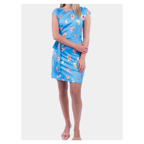 Culito from Spain modré šaty Azul Coctel