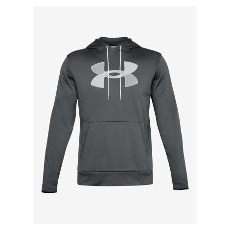 Armour Fleece® Big Logo Mikina Under Armour Šedá