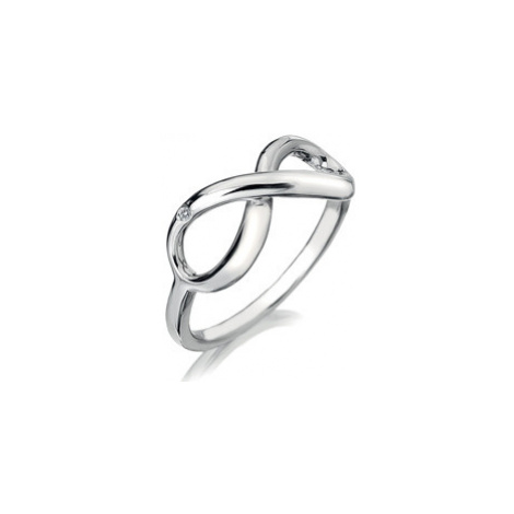 Hot Diamonds Stříbrný prsten Hot Diamonds Infinity DR144