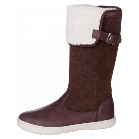 Dámská obuv zimní Alpine Pro NOELA - tmavě hnědá